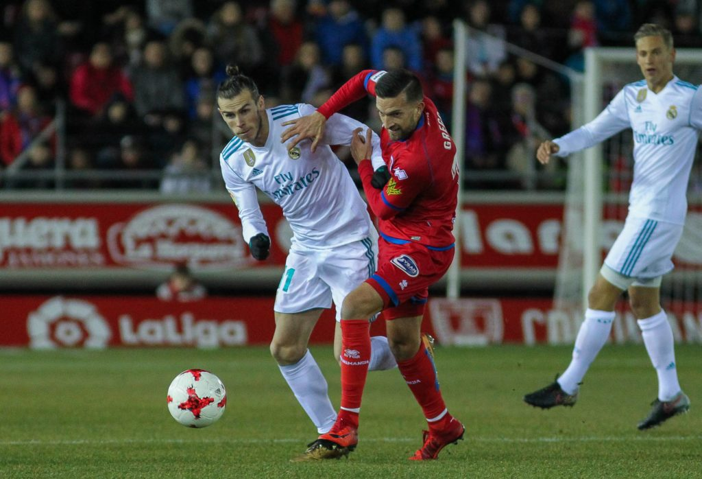 Real Madrid Numancia Bale
