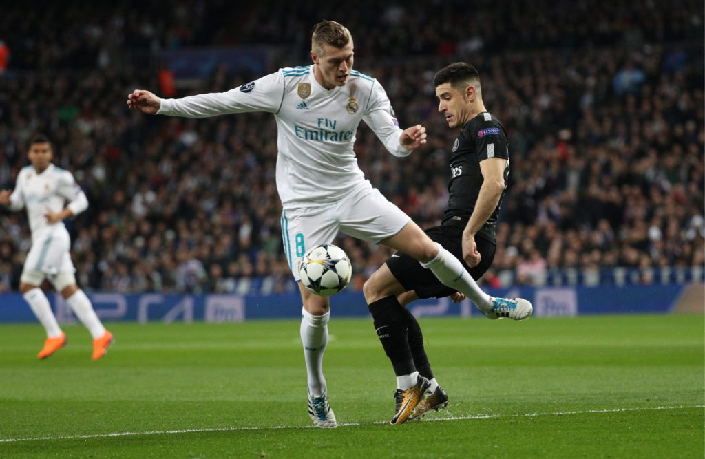 Kroos Real Madrid PSG