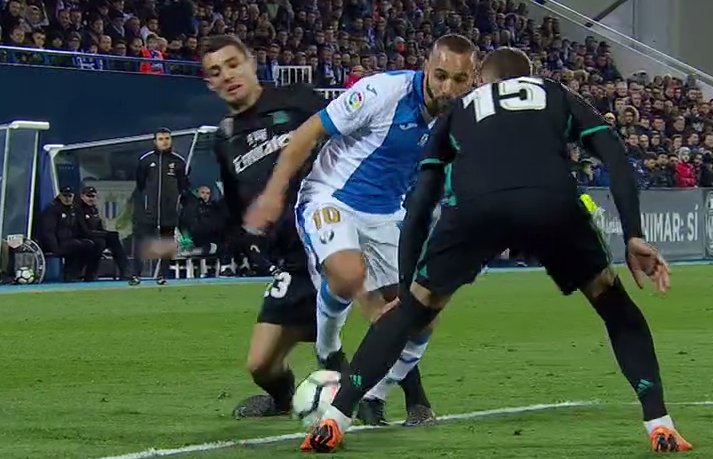 Penalti Real Madrid Leganés