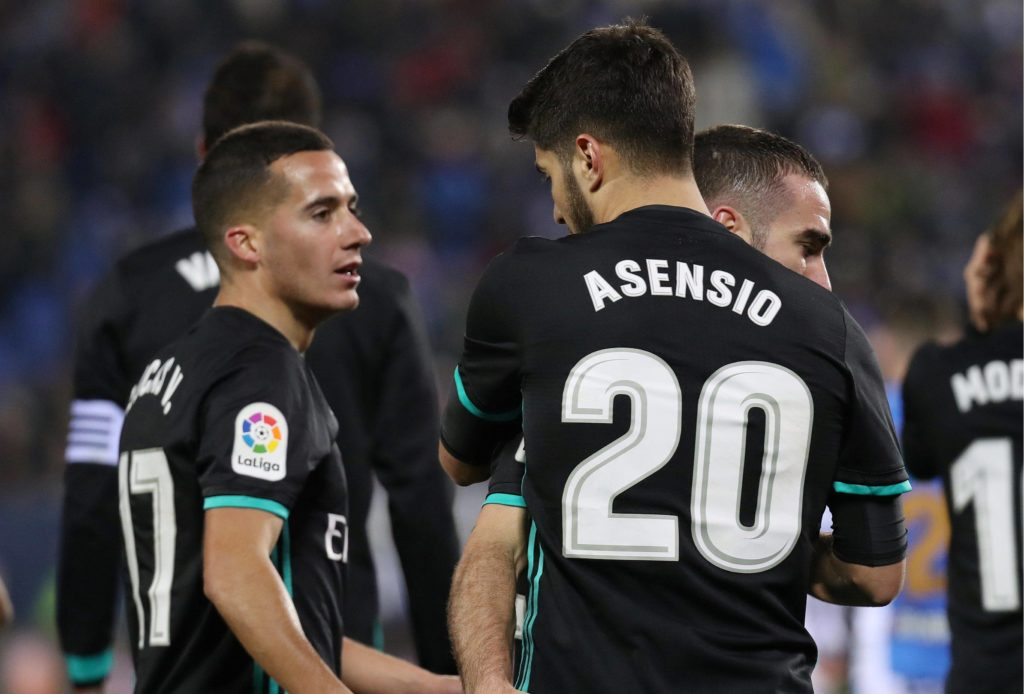 Asensio Lucas Vázquez Real Madrid