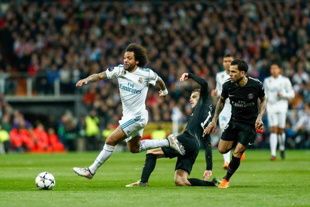 Marcelo Real Madrid PSG