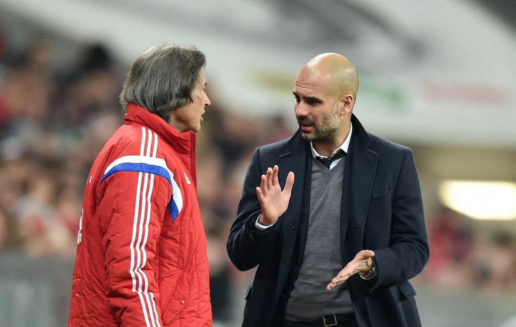 Guardiola vs doctor Bayern
