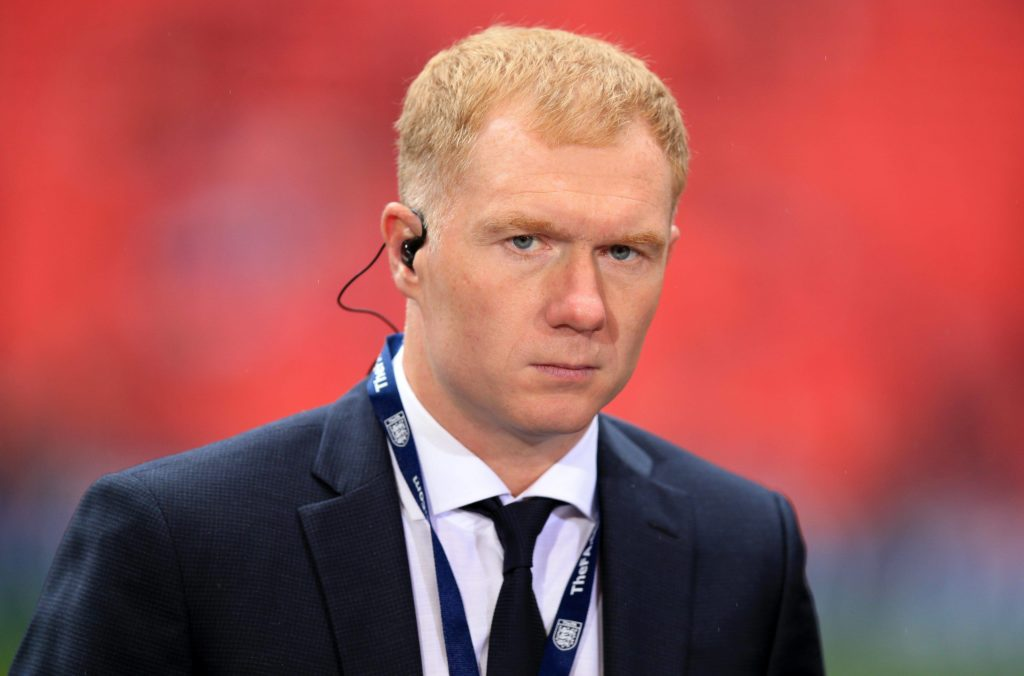 Paul Scholes File Photo