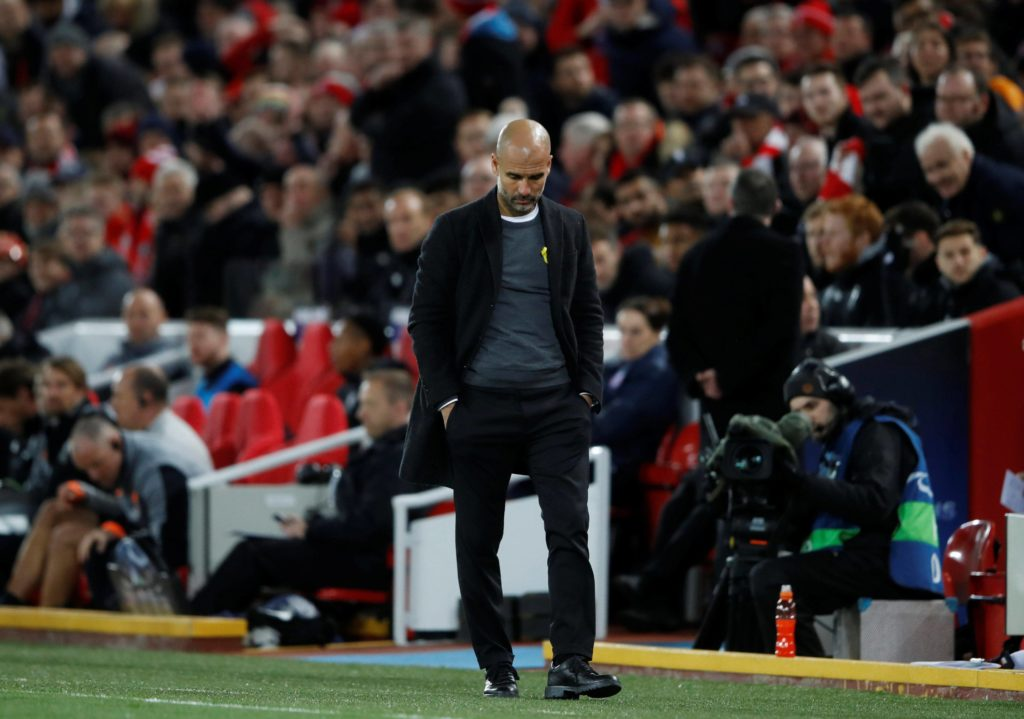 Guardiola Liverpool City