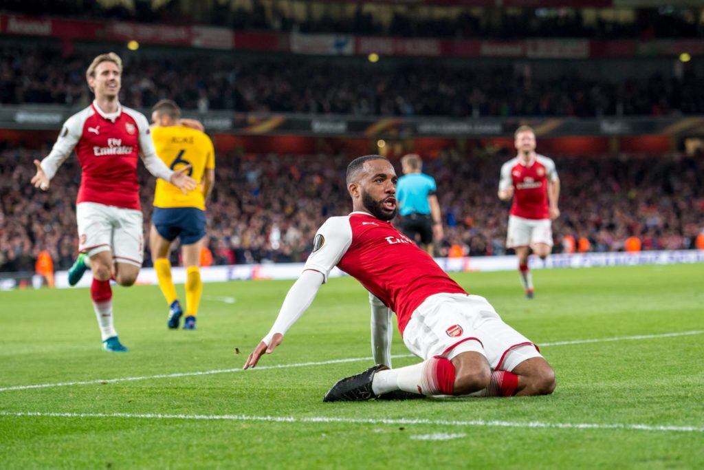 Lacazette Arsenal Atleti