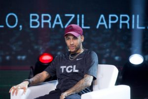 Neymar Jr press conference in Sao Paulo