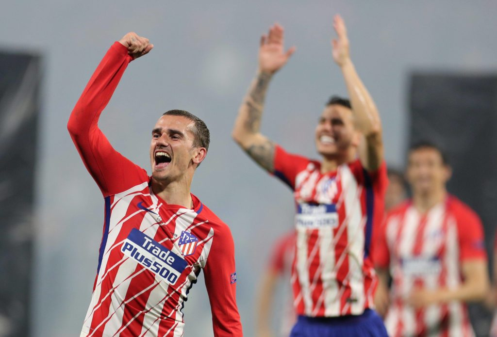 Atleti Griezmann final europa league