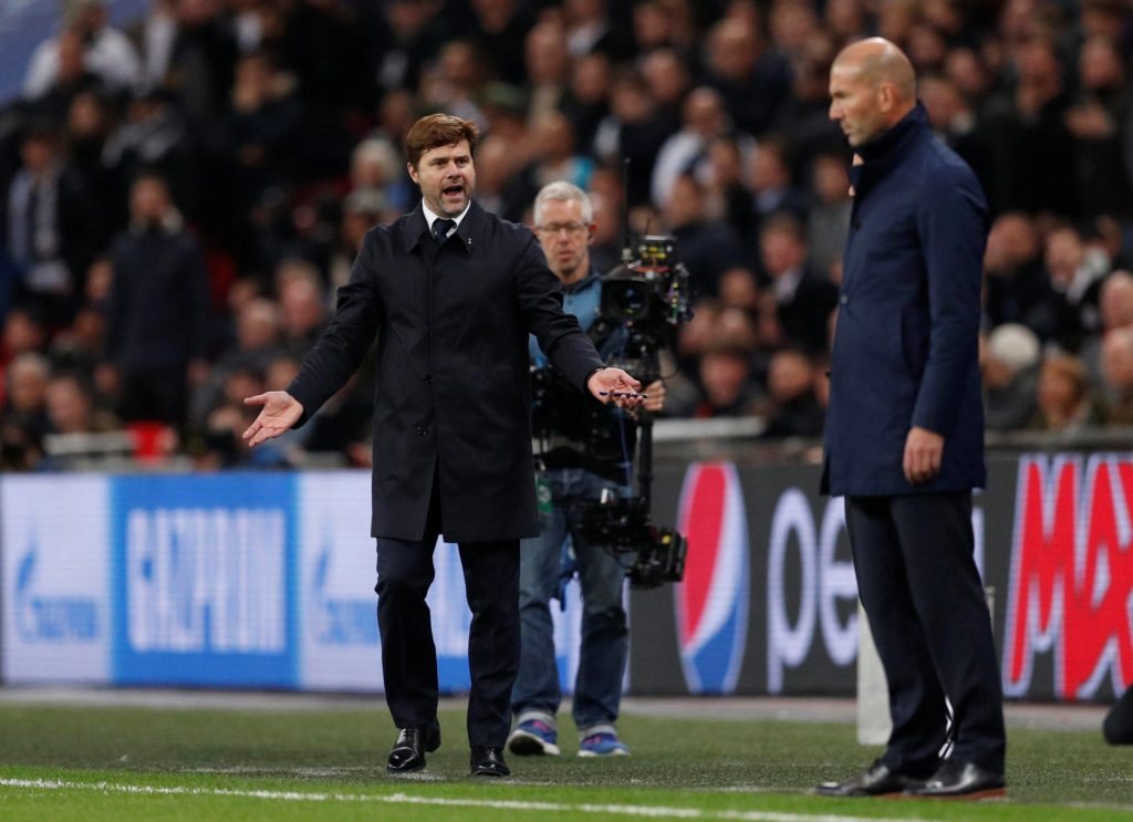 Pochettino Zidane Real Madrid Tottenham