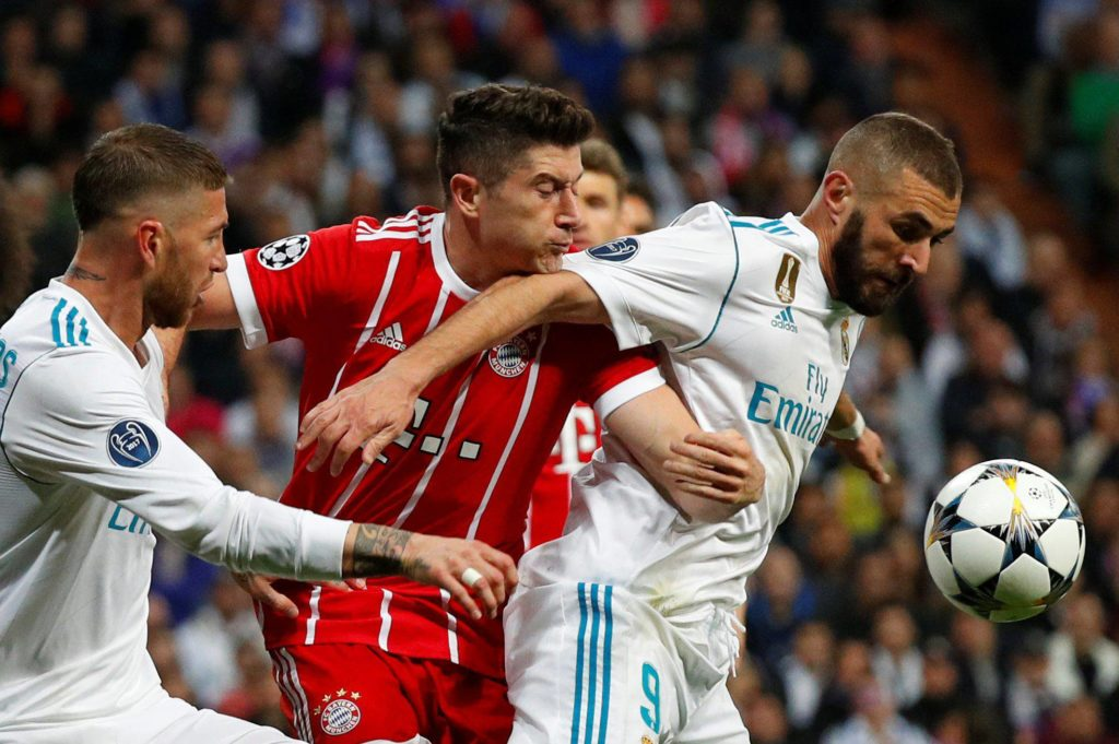 Benzema Lewandowski Real Madrid Bayern