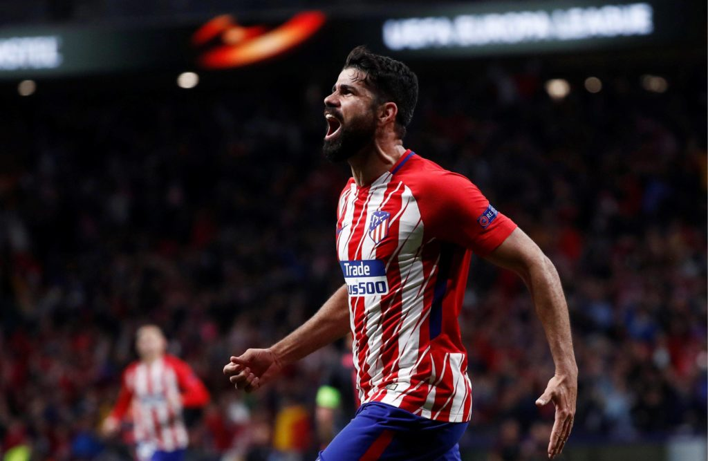 Diego Costa Atleti Arsenal