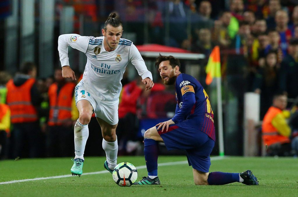 Bale Messi Real Madrid Barça