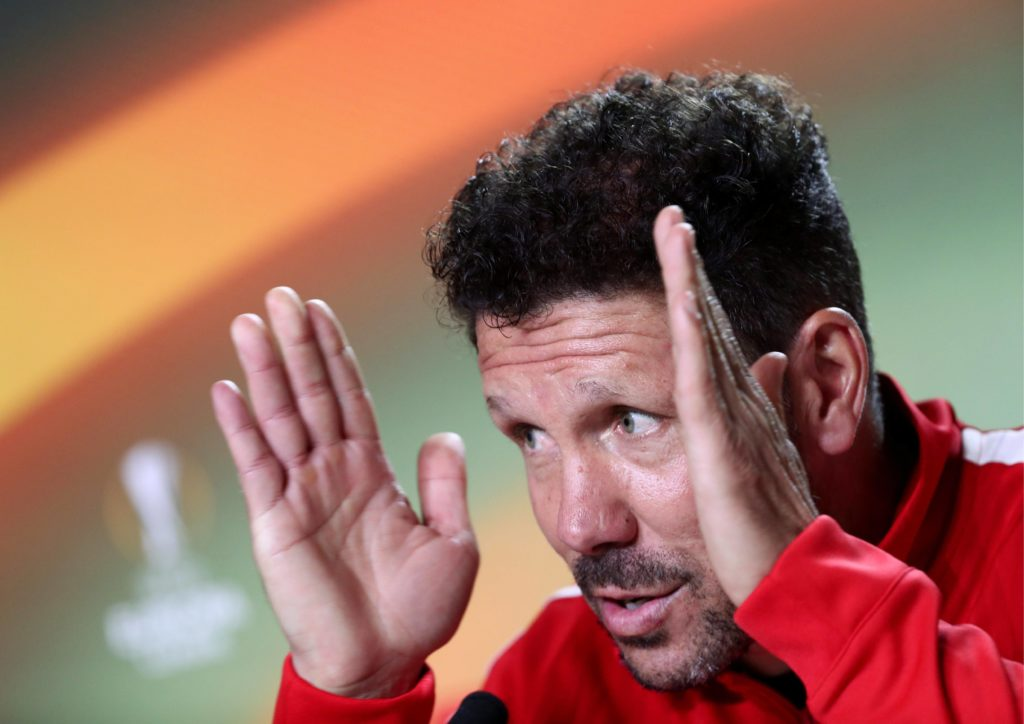 Simeone rueda prensa Europa League
