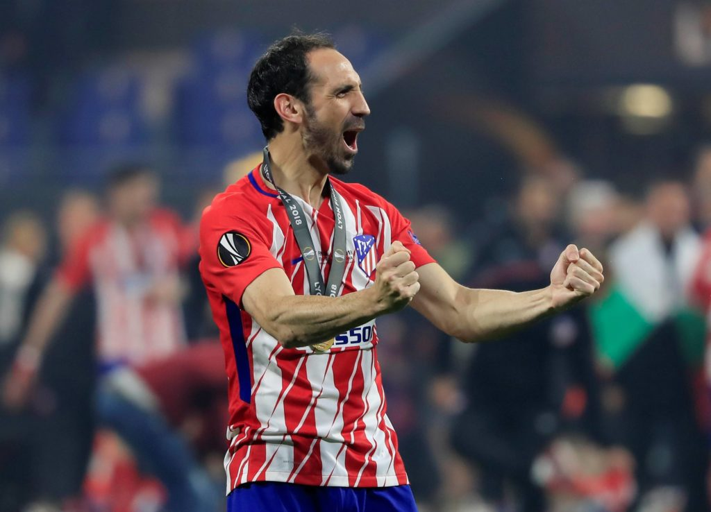Juanfran Atleti europa league