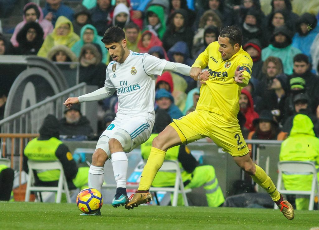 Asensio Real Madrid Villarreal