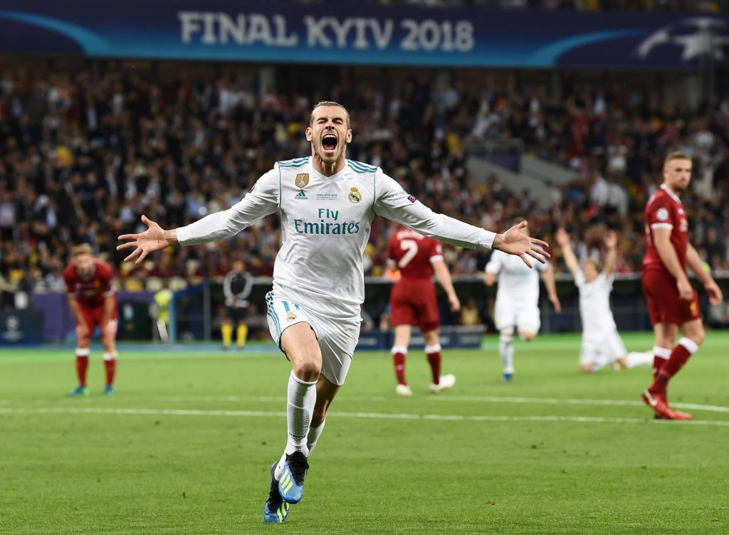 Bale Real Madrid Liverpool final champions