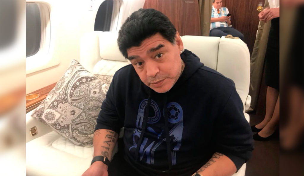 Maradona ingresado