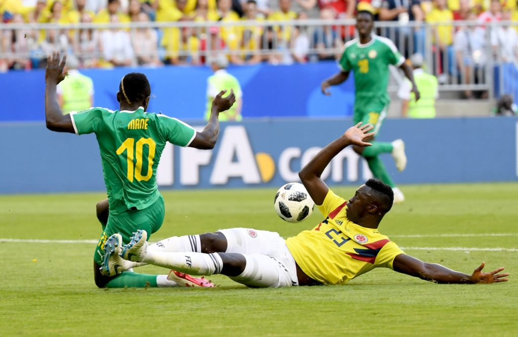 colombia senegal mundial