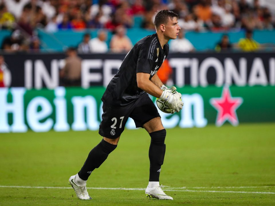 Lunin Real Madrid