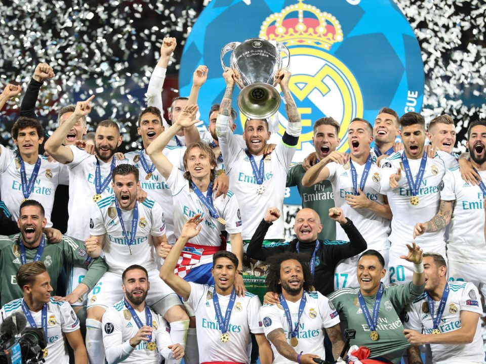 Real Madrid levanta Champions