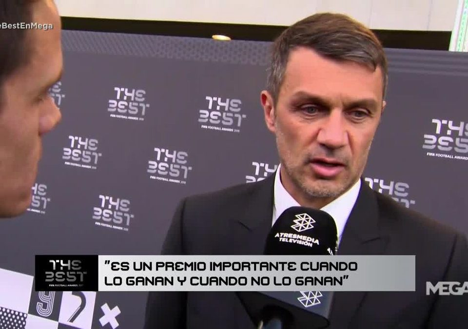 Maldini premios The Best