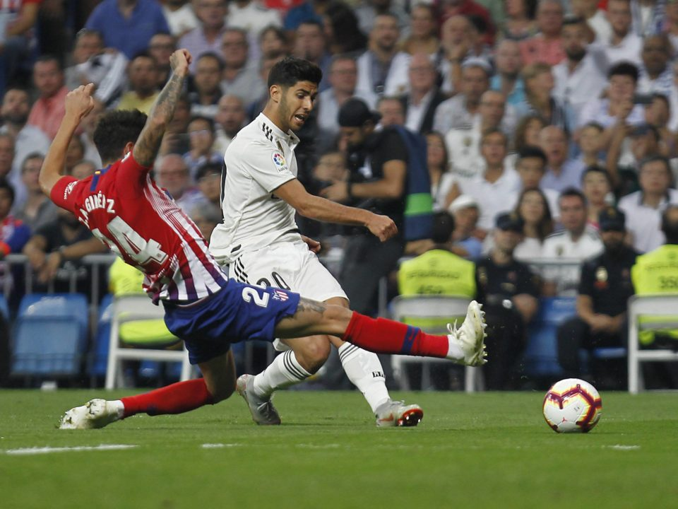 Gimenez Real Madrid Atletico Asensio