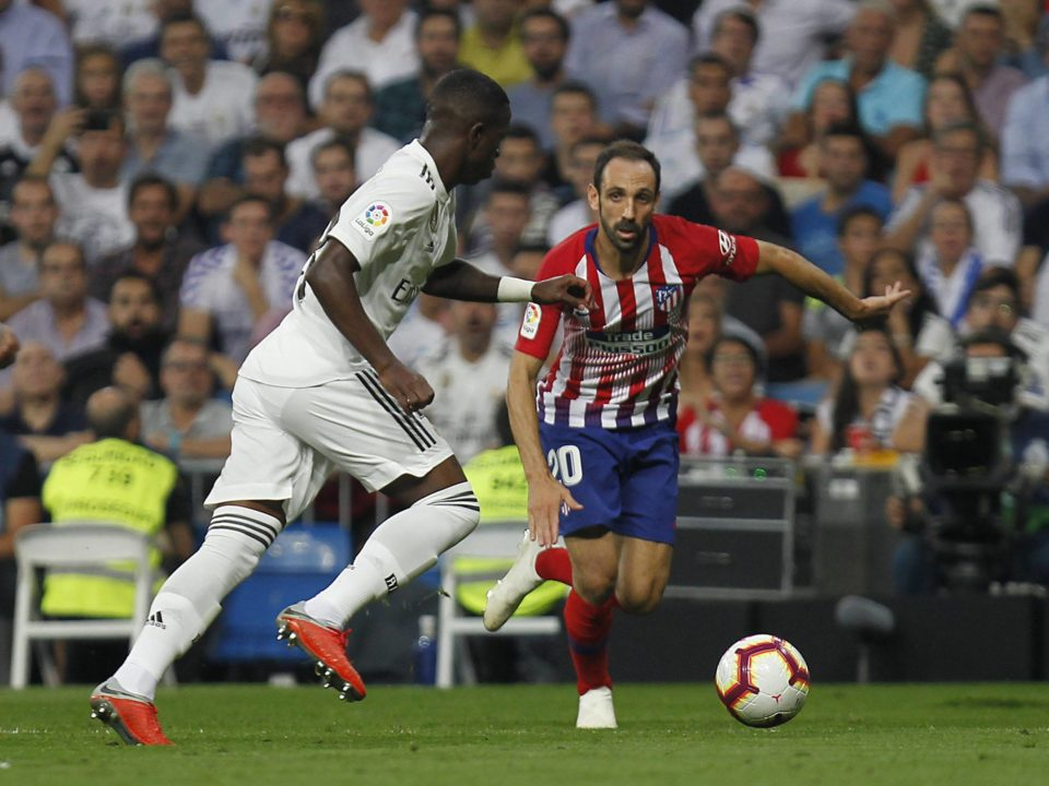 Vinicius debut derbi real madrid atleti