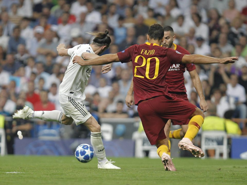 Bale Real Madrid Roma