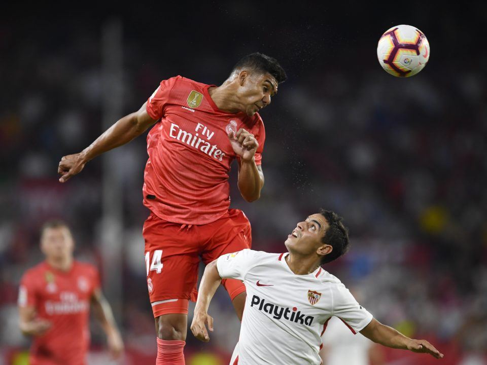 Casemiro Real Madrid Sevilla