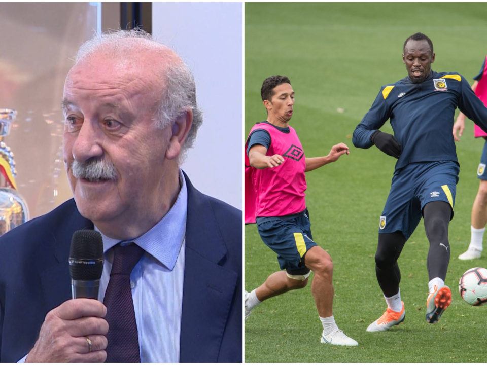 Vicente del Bosque Usain Bolt