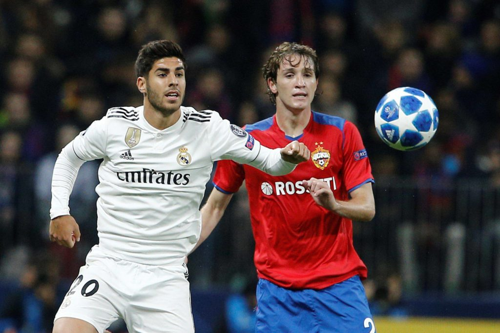 Real Madrid CSKA Moscú