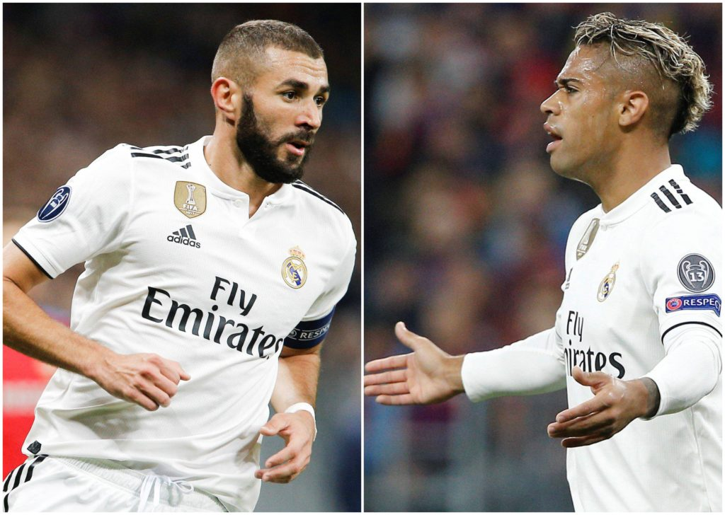 Benzema Mariano Real Madrid