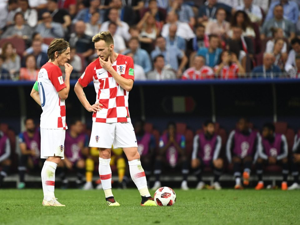 Modric Rakitic Croacia