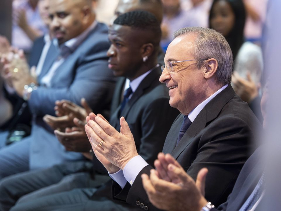 Real Madrid Florentino Pérez
