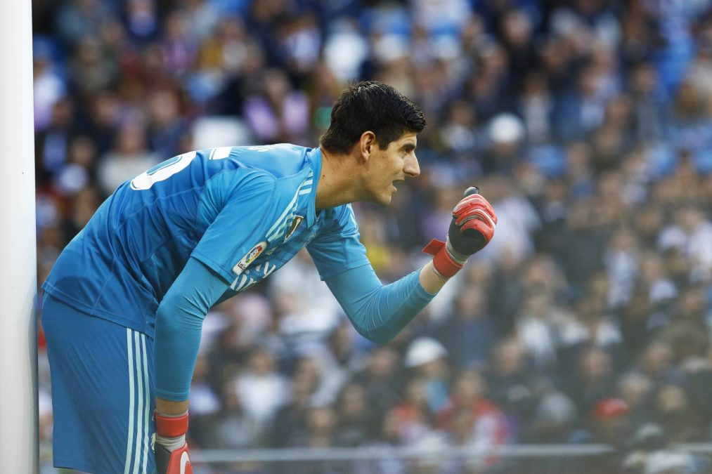 Courtois Real Madrid
