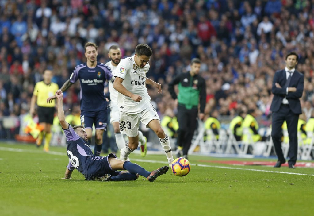 Reguilón Real Madrid Valladolid