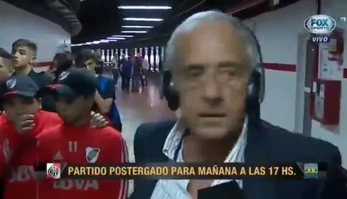 Presidente river sale corriendo