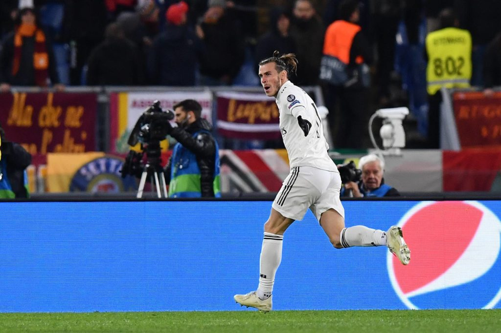 Bale Roma Real Madrid