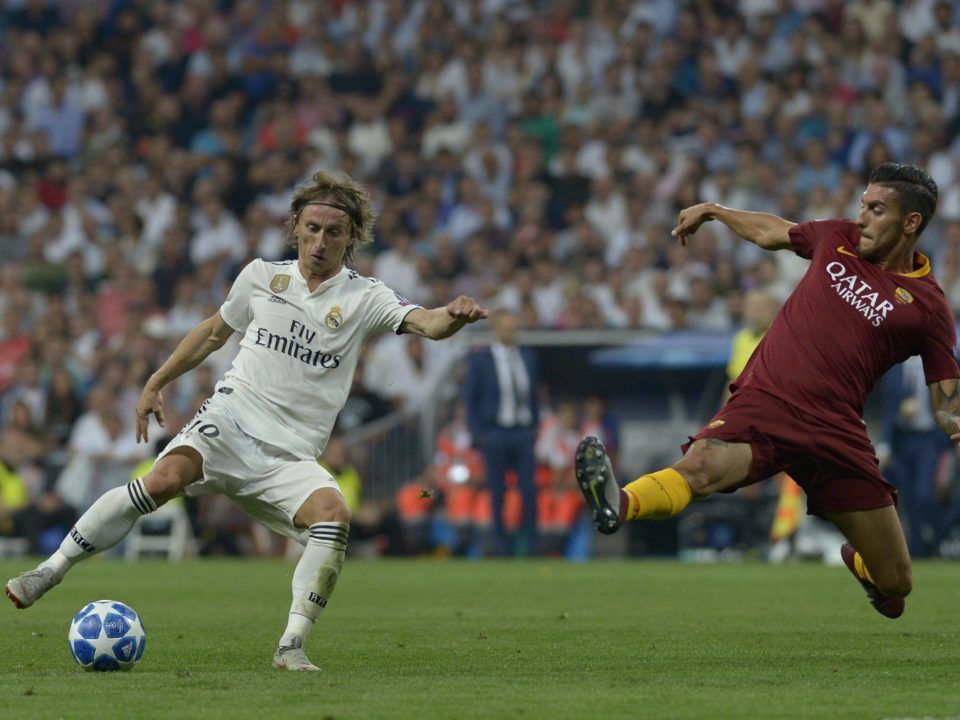 Modric Real Madrid Roma