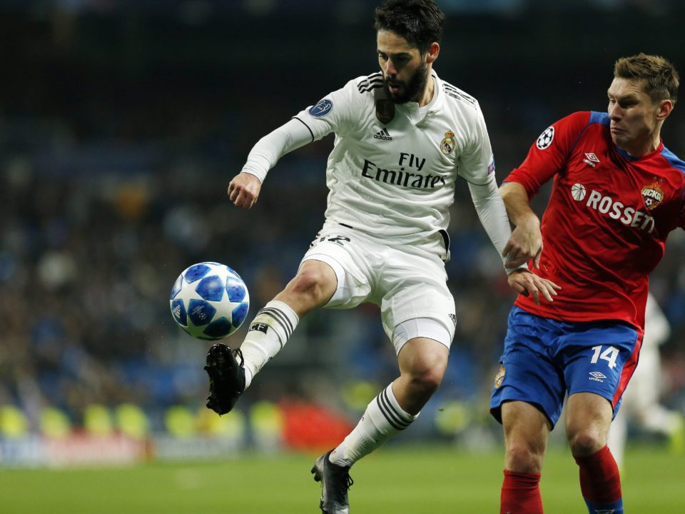 Isco real madrid cska