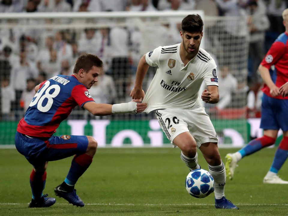 Asensio Real Madrid CSKA