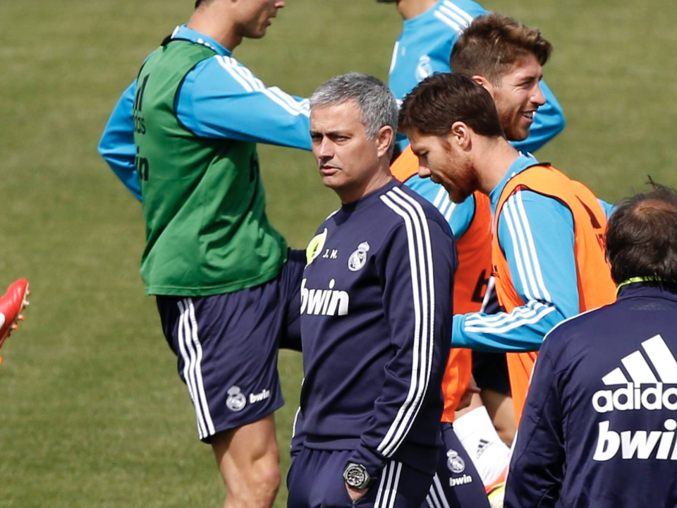 Mourinho Xabi Alonso Real Madrid