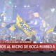 Despedida autobus boca juniors video