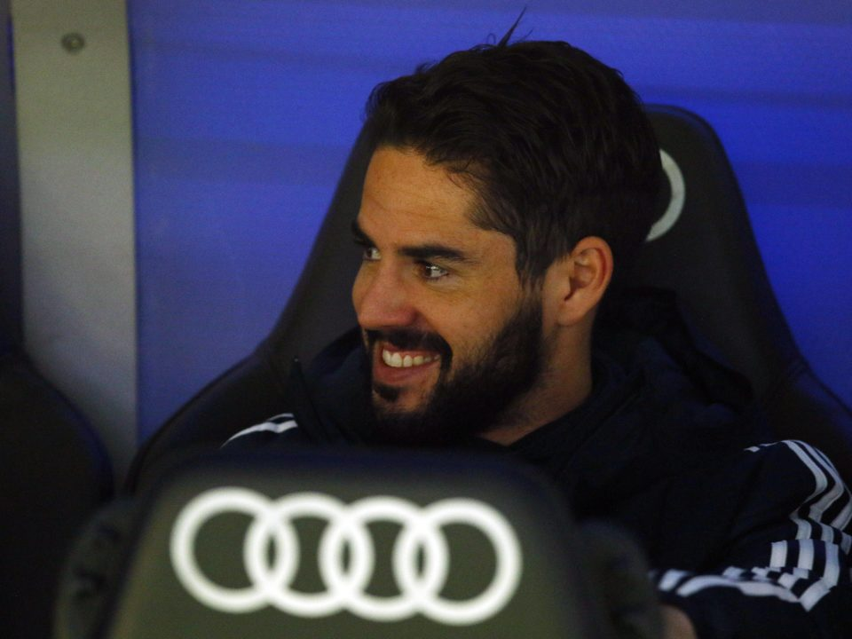 Isco banquillo Real Madrid