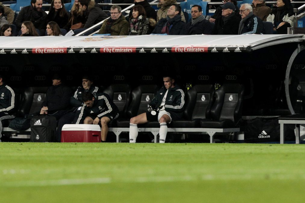 Bale Real Madrid banquillo