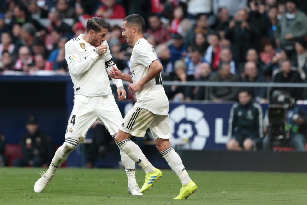 Real Madrid Atletico gol Sergio Ramos