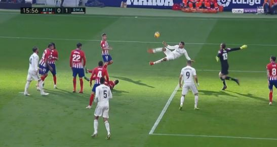 Casemiro chilena atletico real madrid