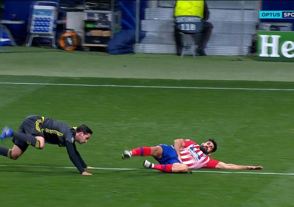 Penalti Diego Costa
