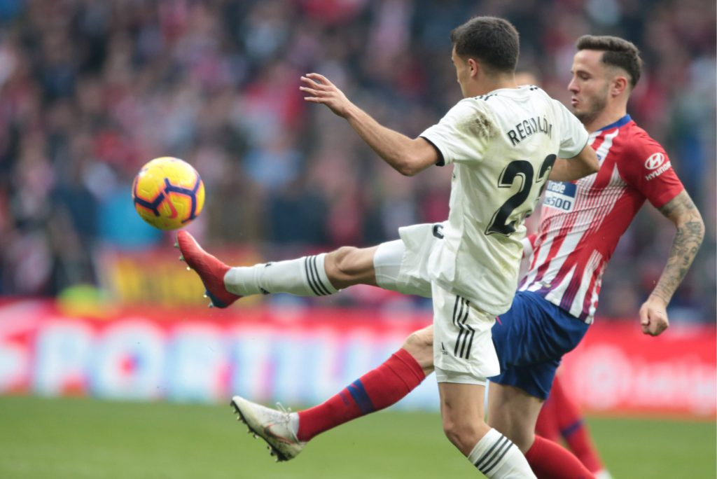 Real Madrid Atletico Reguilon Saul