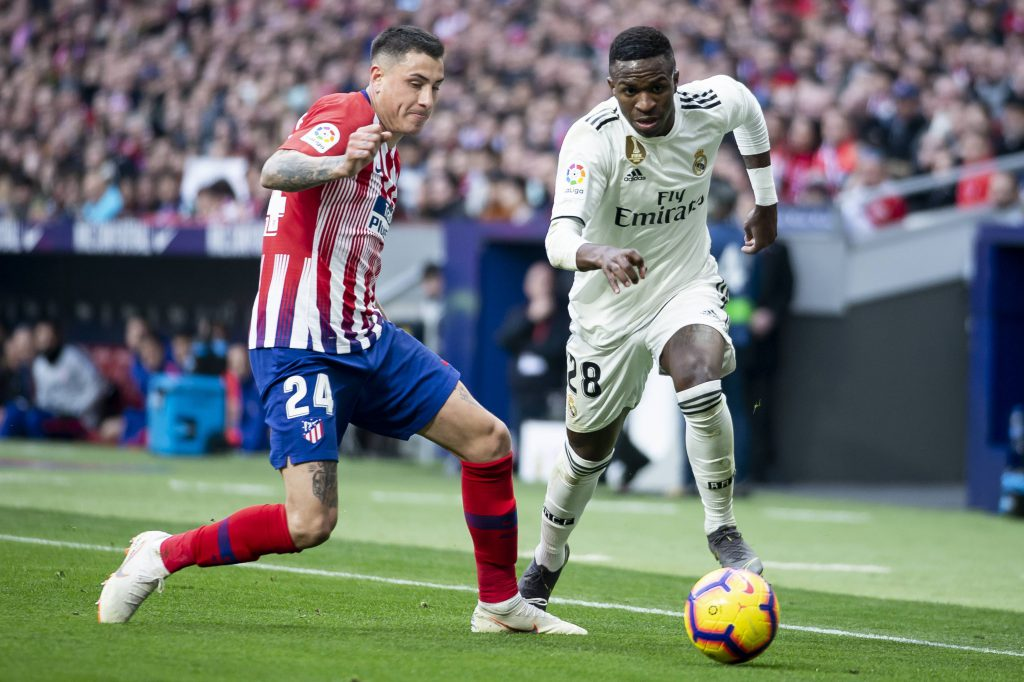 Vinicius Gimenez Real Madrid Atletico