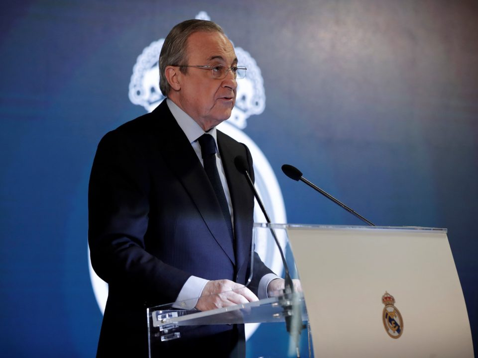 Florentino Perez Real Madrid